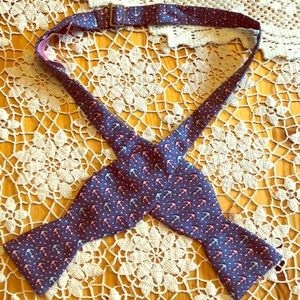💯Silk Anchor Vineyard Vines Bow tie